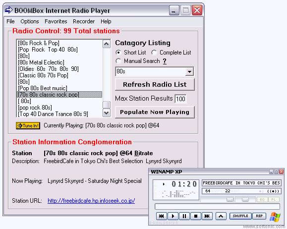 BOOMBox Internet Radio Player