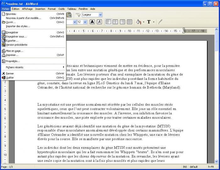Apache openoffice t l charger - Telecharger open office gratuit en francais ...