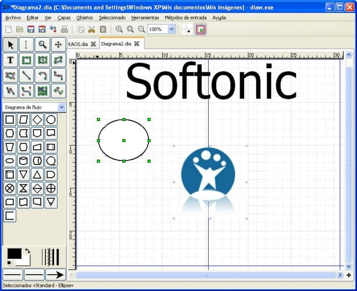 softonic review - Flow Chart Editor