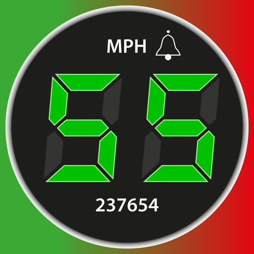 Speedometer. Trip Cost, Mileage and GPS Tracker