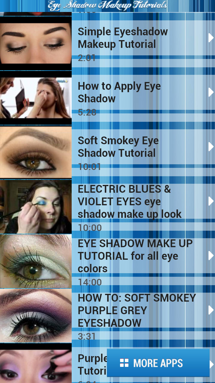 Eye shadow makeup tutorials for android download eye shadow makeup tutorials is a free app only available for android belonging to the category lifestyle apps with subcategory fashion beauty and has baditri Image collections
