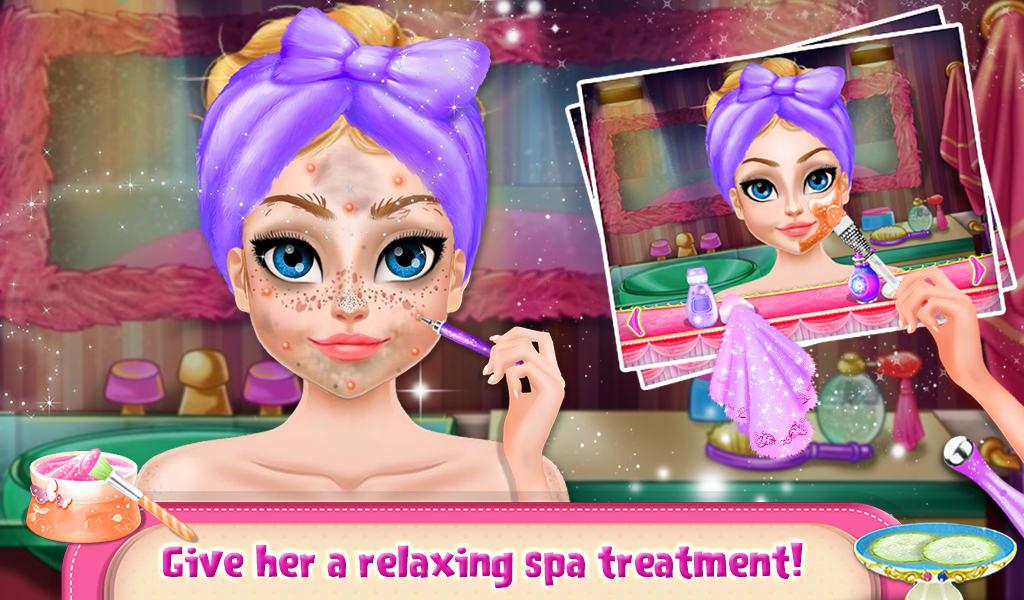 Princess Doll Hair Style