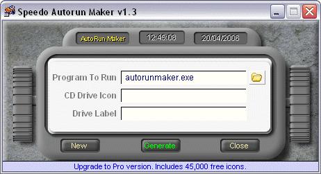 Speedo Autorun Maker