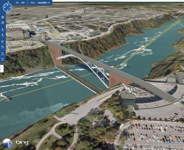Bing Maps 3D (ex Virtual Earth 3D)