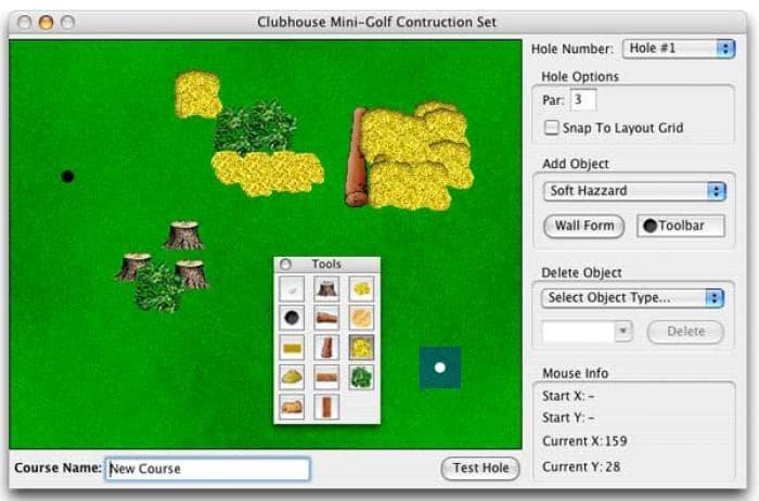 Clubhouse Mini-Golf