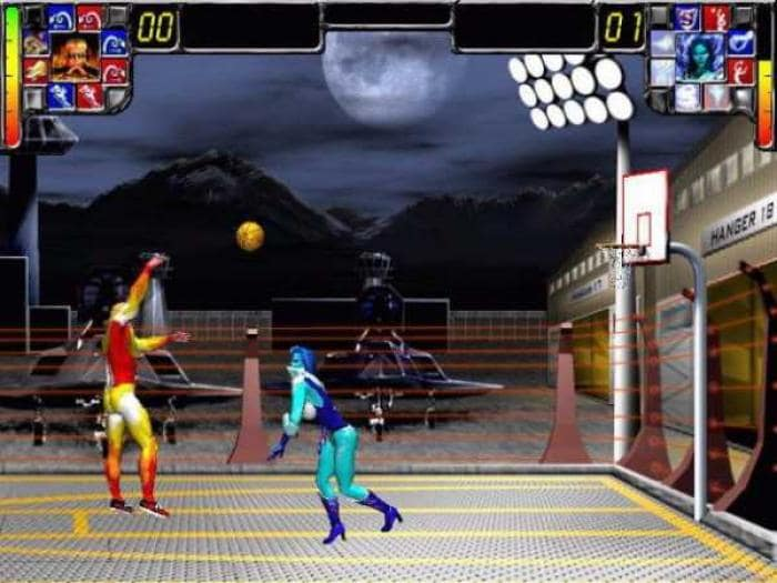 Superhero Sports Basketball Demo