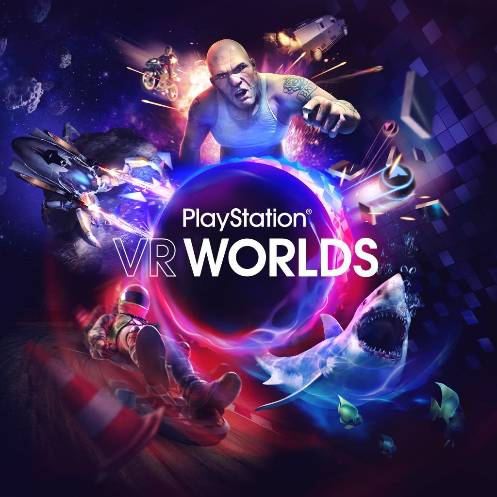 PlayStation Worlds PS VR PS4