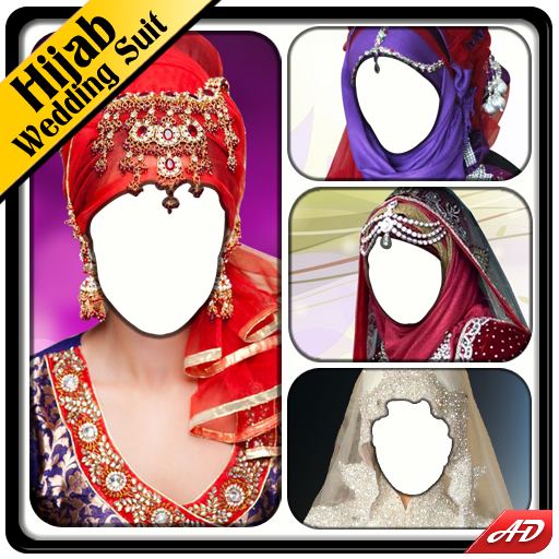 Hijab Wedding Photo Suit New