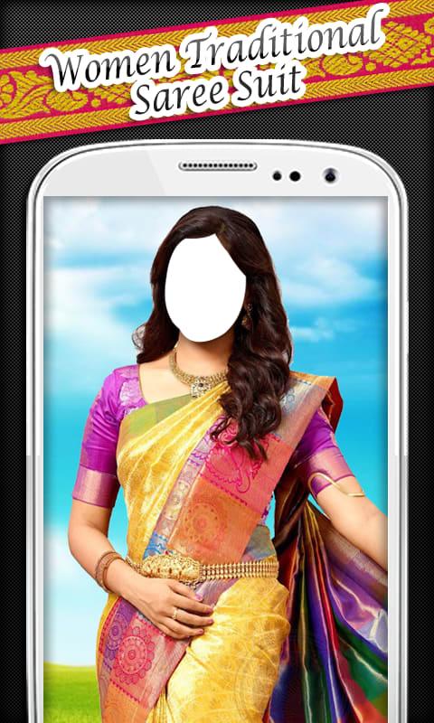 Women Traditional Saree Suit