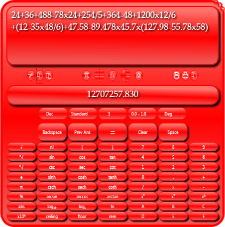 Usmania Calculator