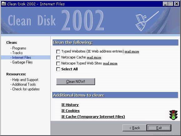 Clean Disk 2002