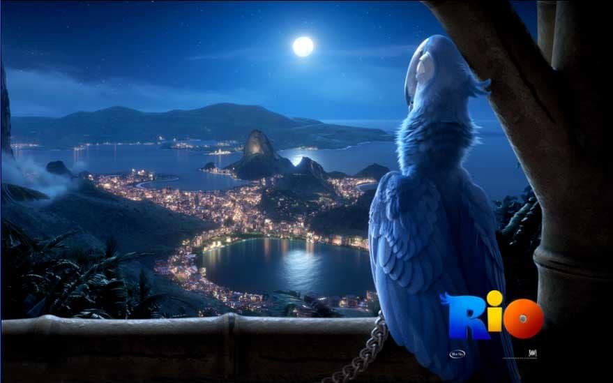 Rio Movie Theme per Windows 7