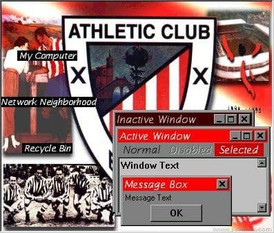 Athletic Club (Tema de escritorio)