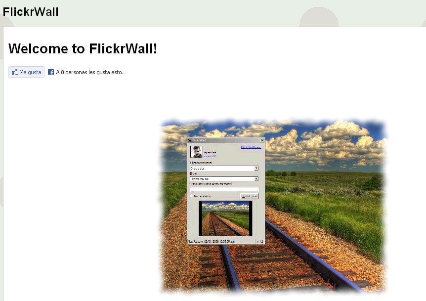 Flickrwall