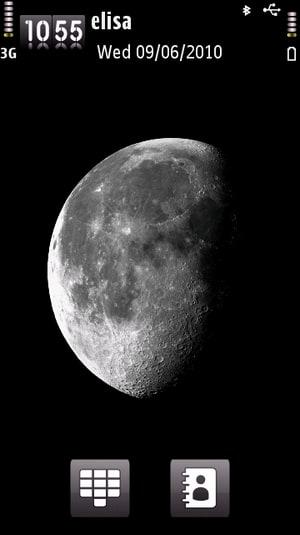 Thème Lune