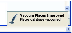 Vacuum Places Improved
