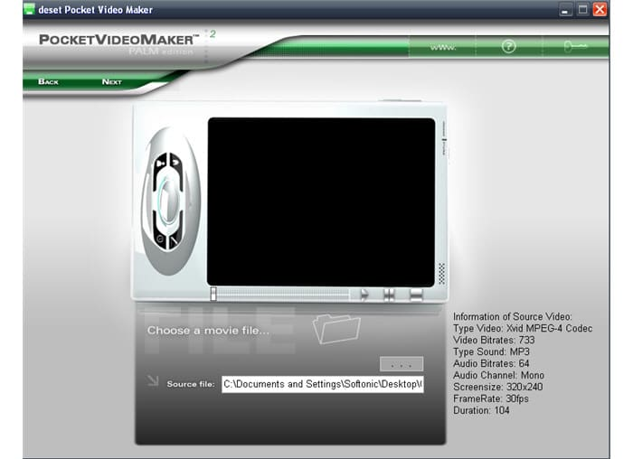deset Pocket Video Maker