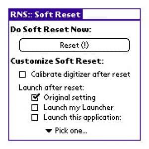Soft Reset
