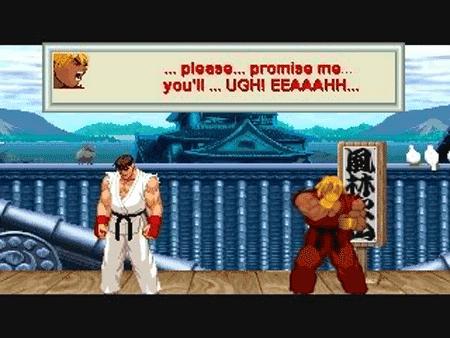 Street Fighter 2 Mugen Game