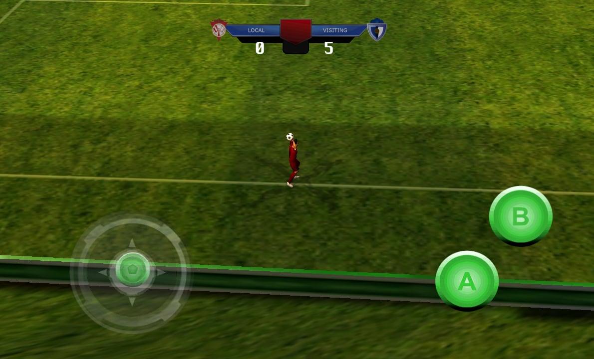 Melhor jogo de futebol 2014 3D