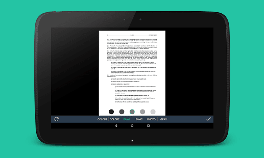 PDF Scanner from Photo Camera