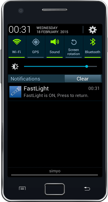 Fast FlashLight