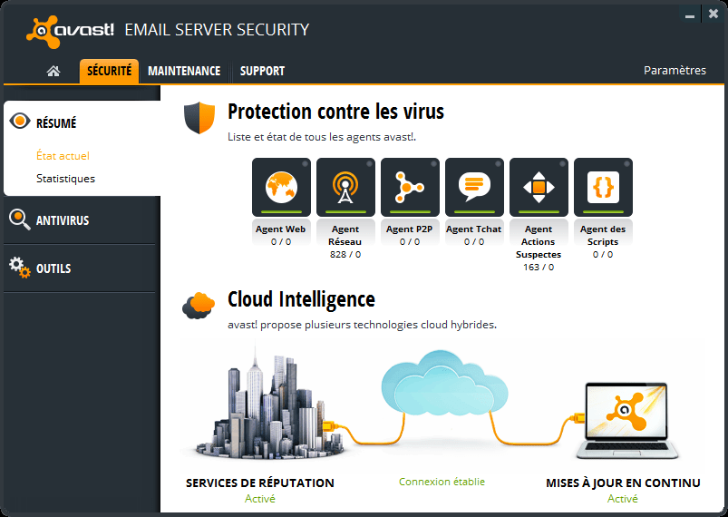 avast! Email Server Security