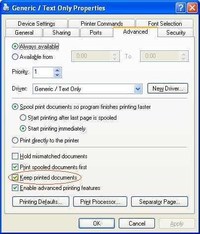O&K Printer Viewer