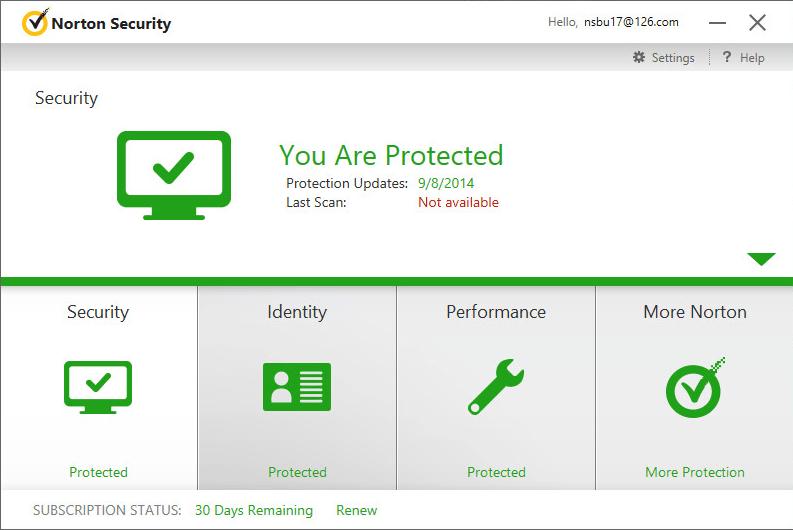 Norton Security Beta
