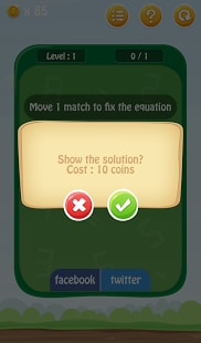 Matches Puzzle - Math Game