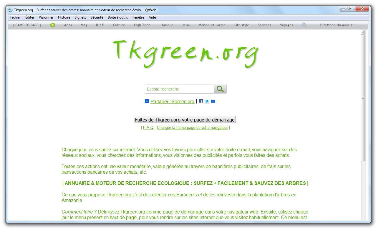 Tkgreen QtWeb