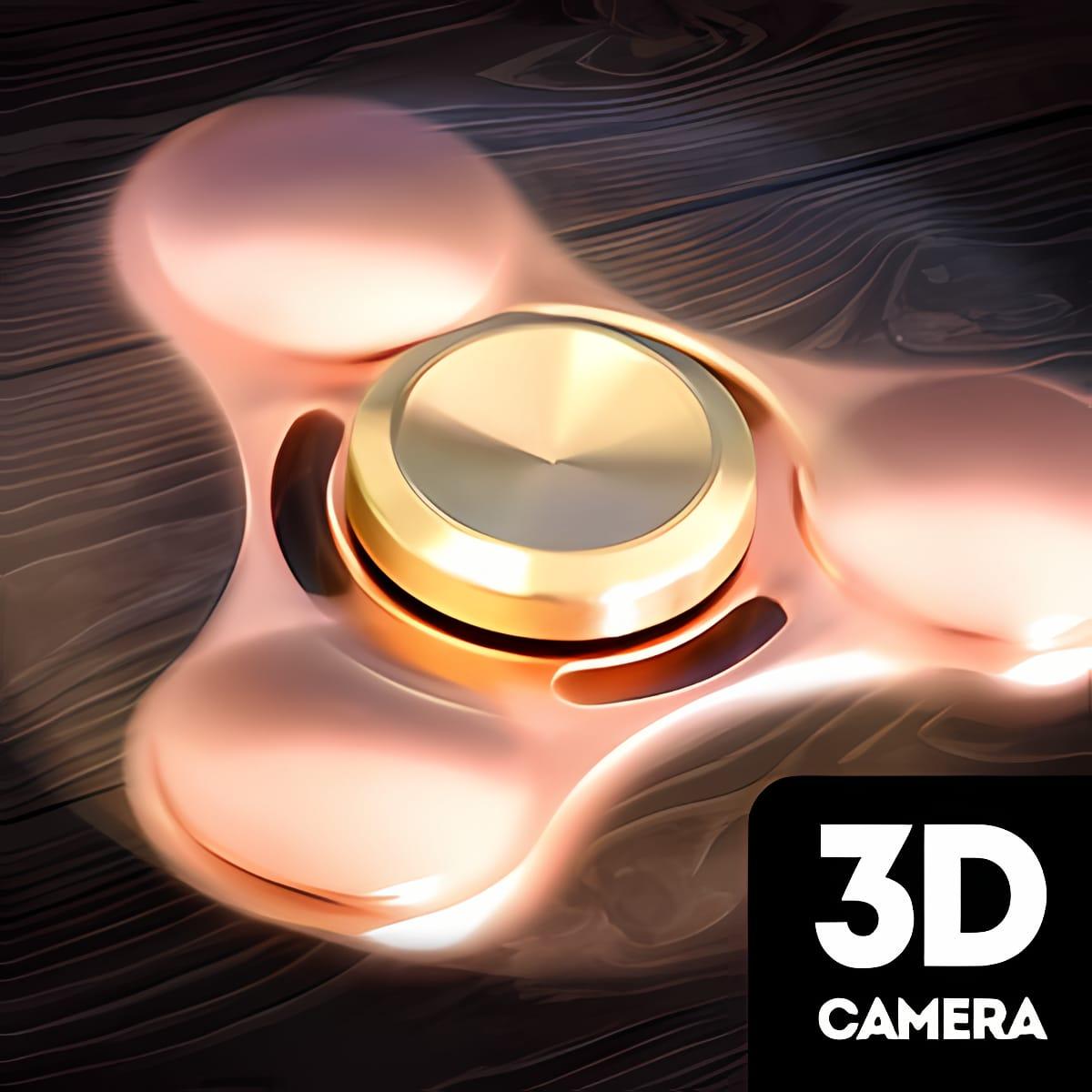 Hand spinner camera 3d 1.0