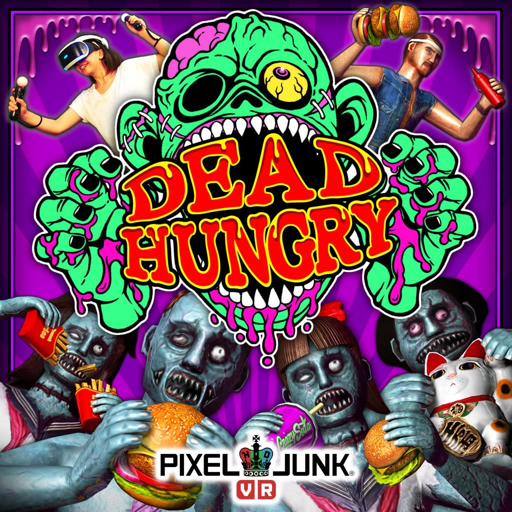 PixelJunk Dead Hungry PS VR PS4 varies-with-device