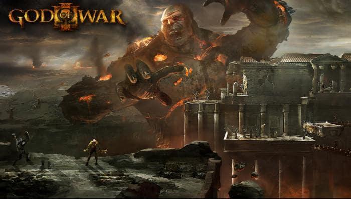 God Of War 3 Papel de Parede