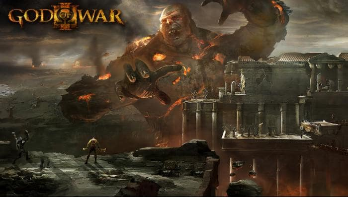 Wallpaper di God Of War 3