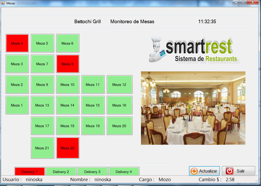 SmartRest - Sistema de Restaurant