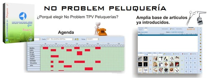 No Problem TPV Peluqueria