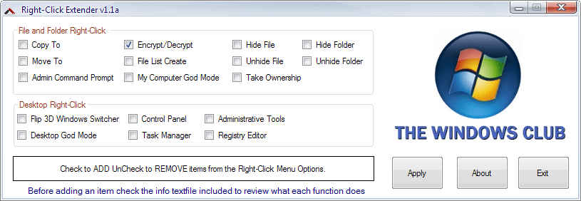 Right-Click Context Menu Extender