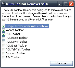 Multi-Toolbar Remover