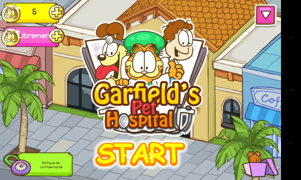 Garfield: Hospital de Animais
