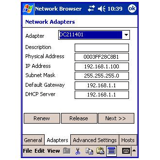 Network Browser