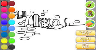 Coloring Book For Kids : Nature