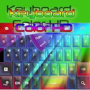 Teclado de color HD