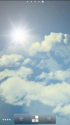 Happy Sky ライブ壁紙