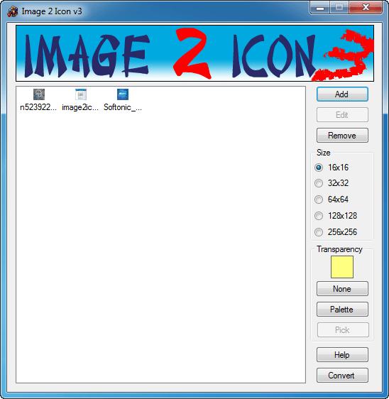 Image 2 Icon Converter
