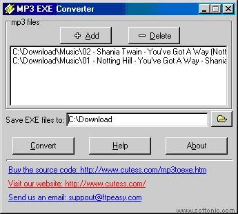 MP3 EXE Converter