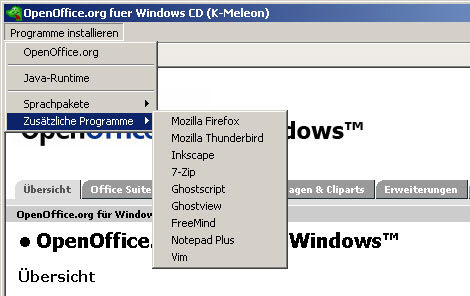 OpenOffice PrOOo-Box