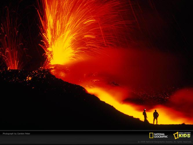 National Geographic Mount Etna Wallpaper