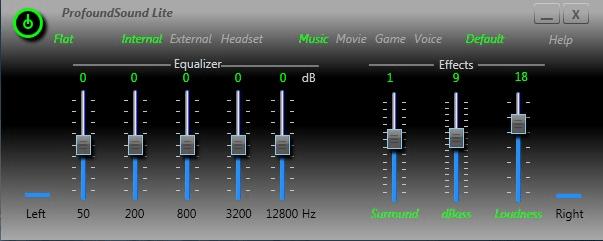 Profound Sound Lite Win7 32