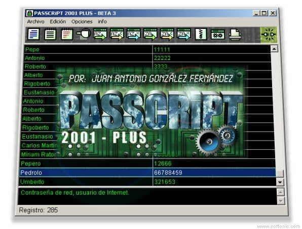PASSCRiPT 2001 PLUS